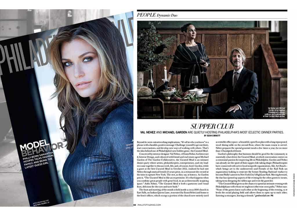 Philadelphia Style Magazine article