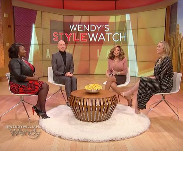 Devon Dowd Designs on the Wendy Williams Show