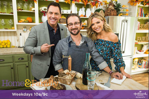 Catherine Page Jewelry on Home & Family TV October 2017