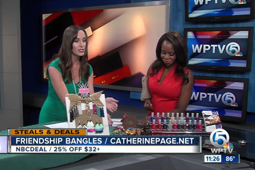 Catherine Page Jewelry on WPV October 2017