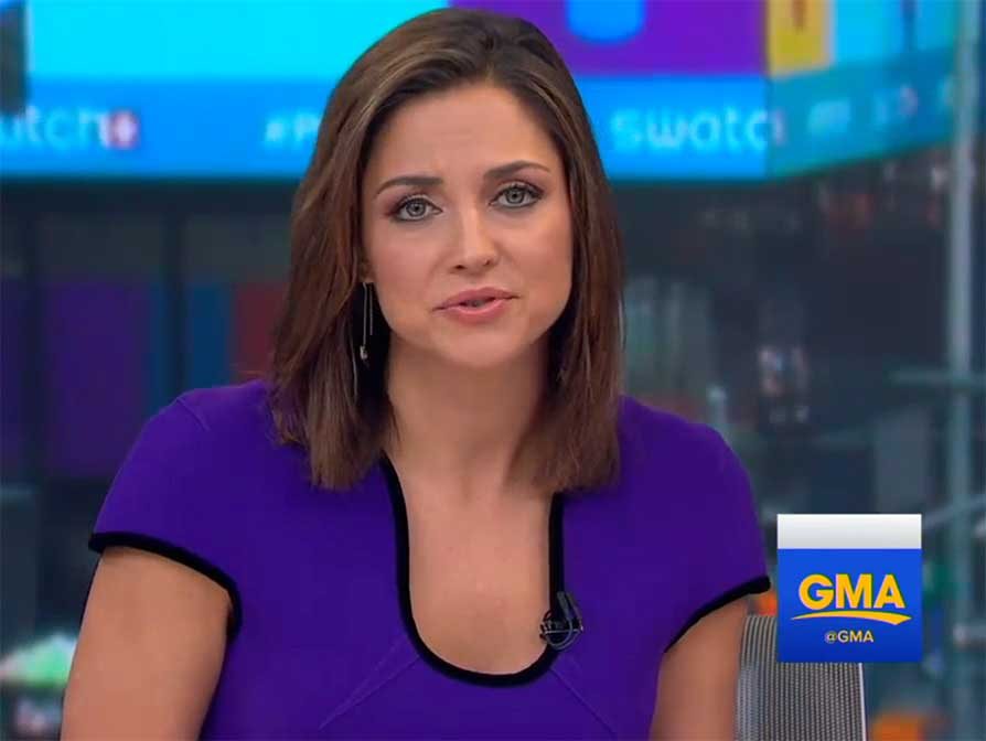 Heather Hawkins on GMA