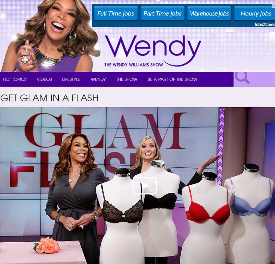 Heather Hawkins Jewelry on Wendy Williams Show